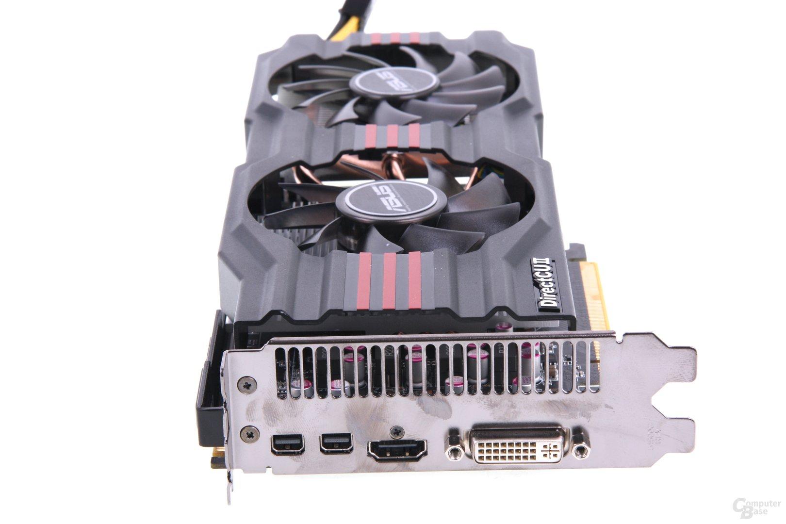 Radeon HD 7850 DCII Slotblech