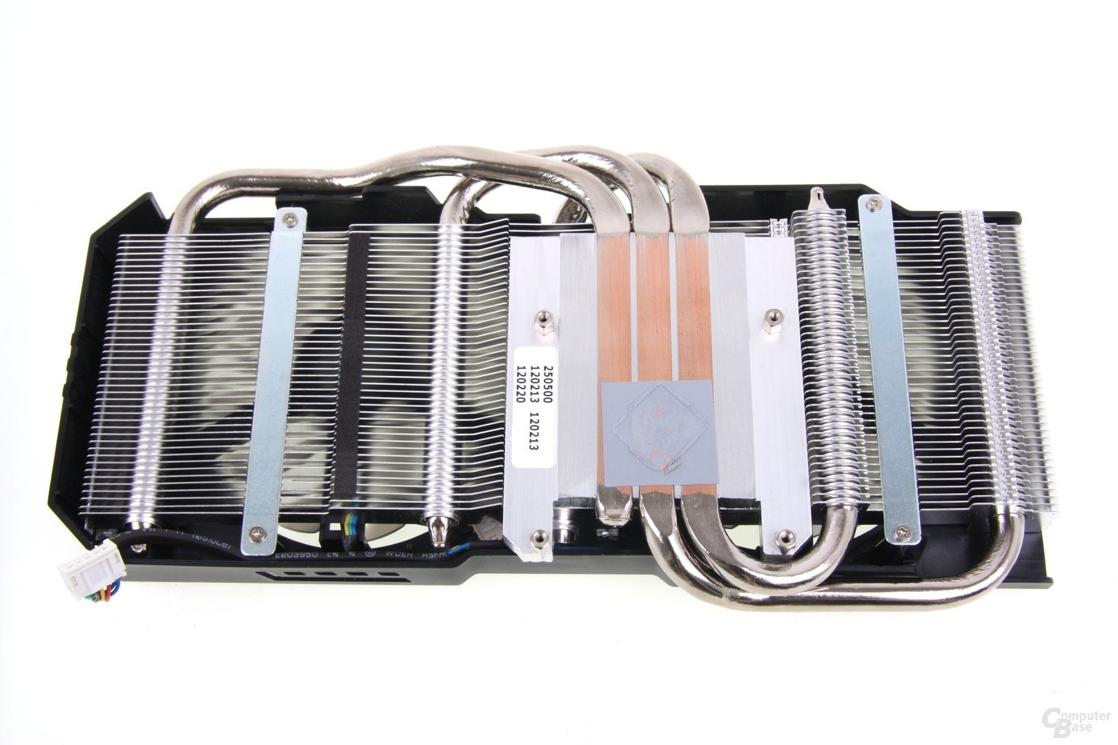 Radeon HD 7870 DCII TOP Kühlerrückseite