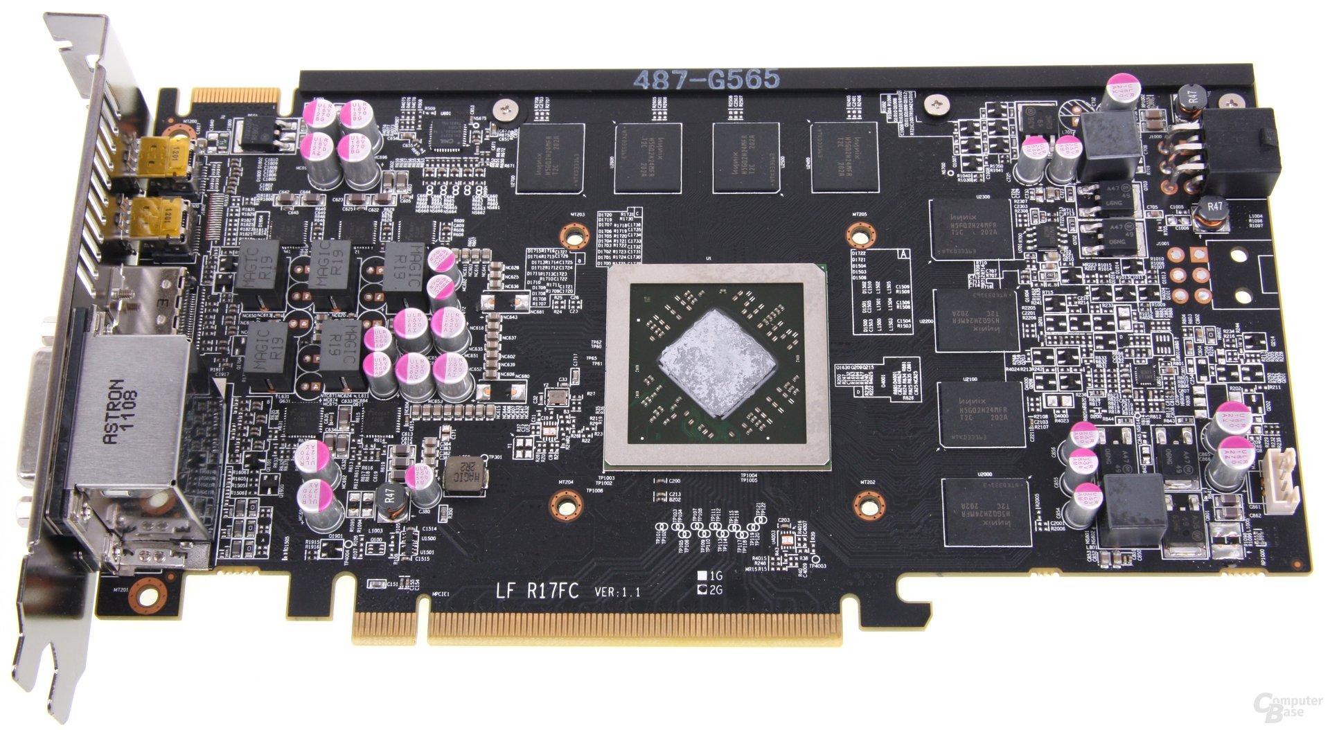 Radeon HD 7850 PCS+ ohne Kühler