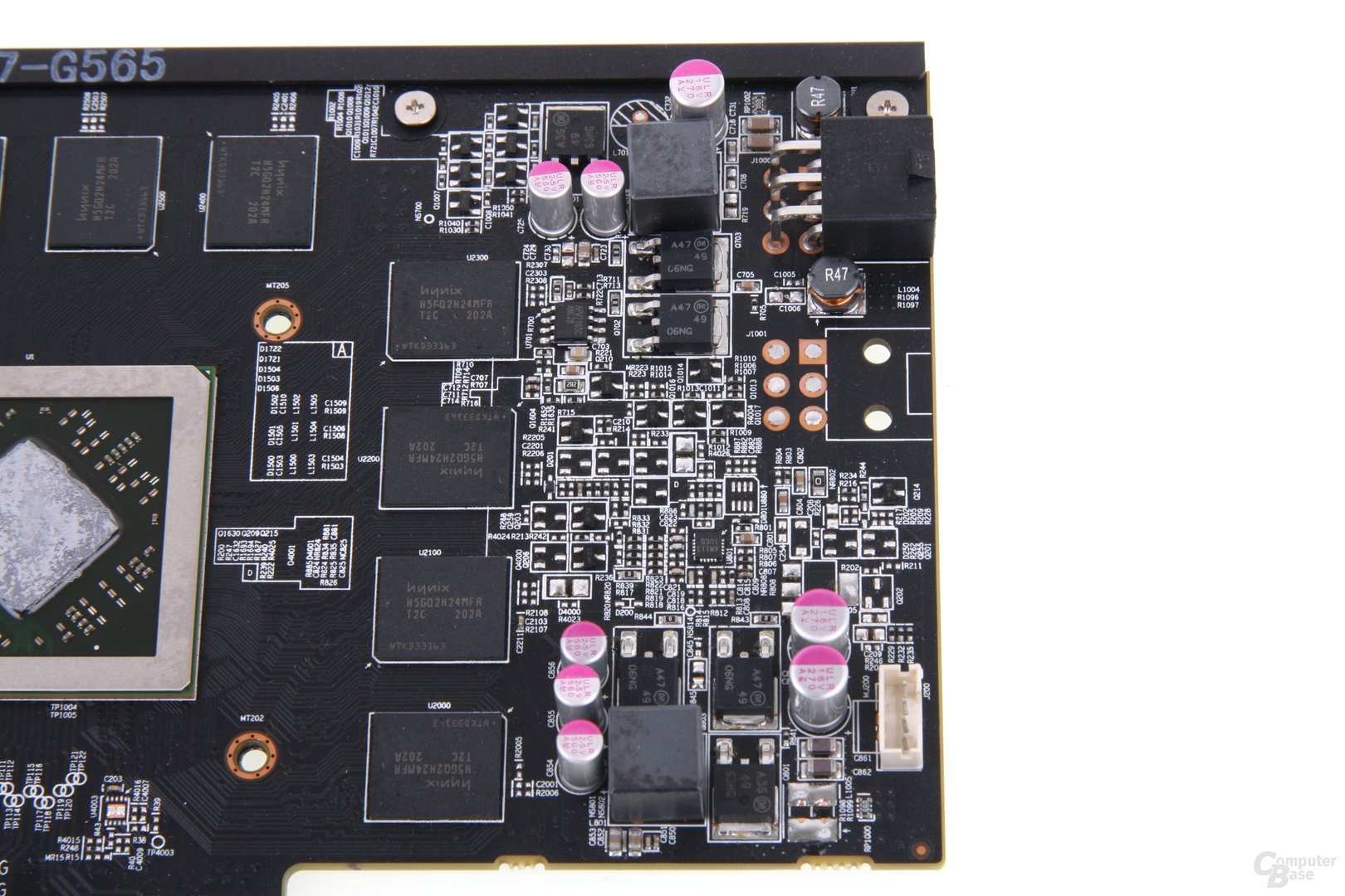 Radeon HD 7850 PCS+ Bauteile 2