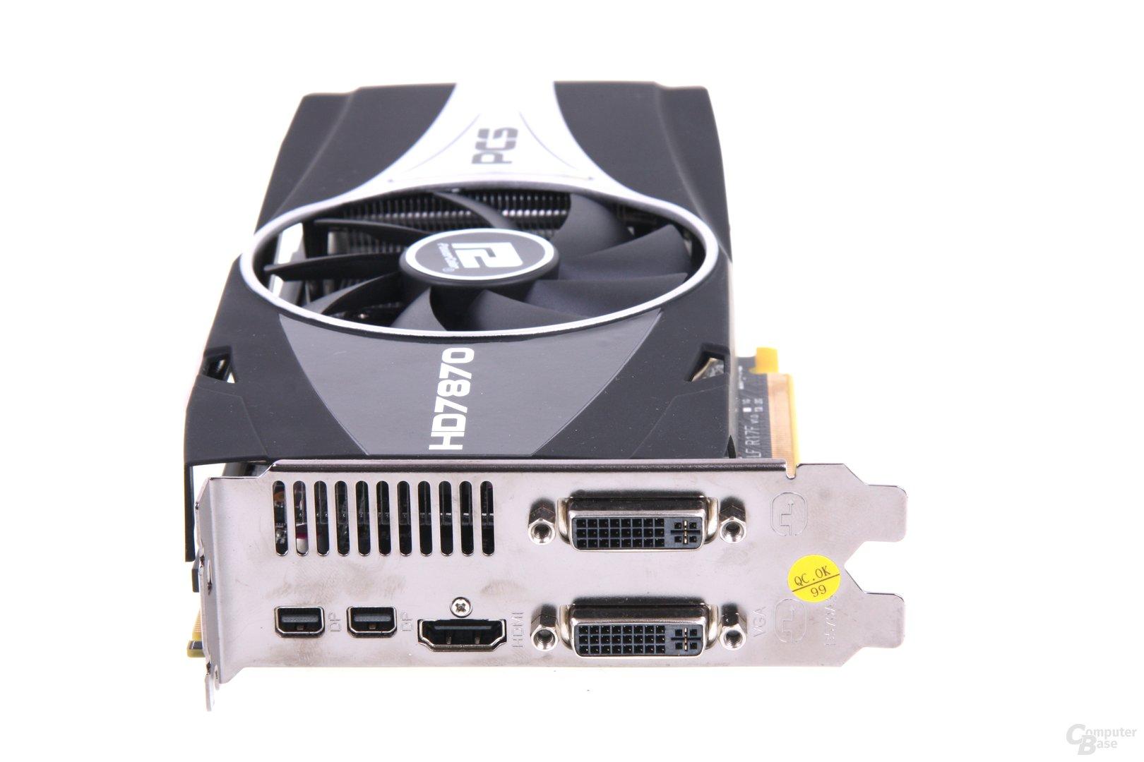 Radeon HD 7870 PCS+ Slotblech