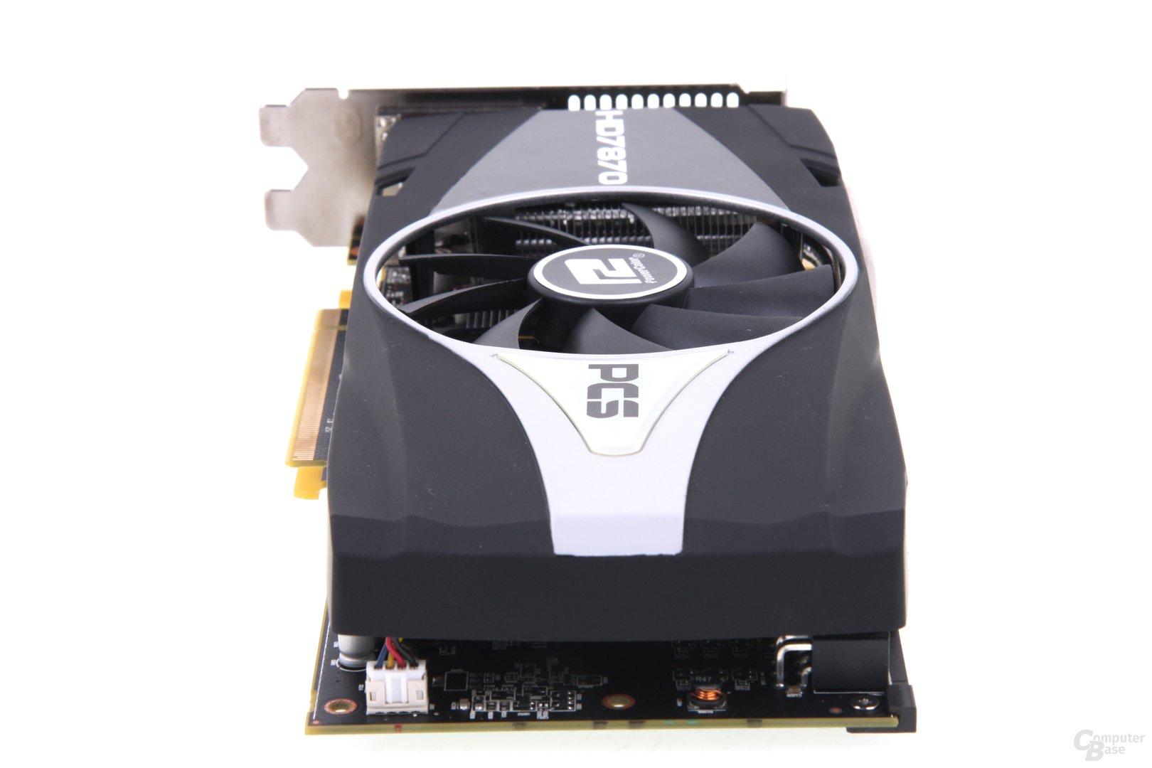 Radeon HD 7870 PCS+ von hinten