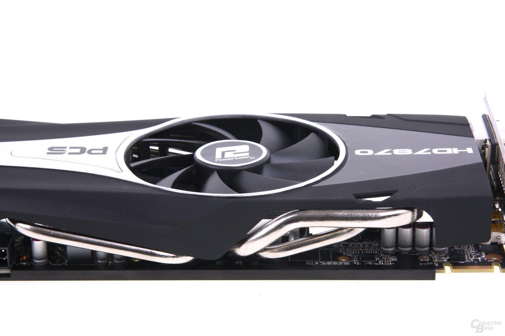 Radeon HD 7870 PCS+ Heatpipes