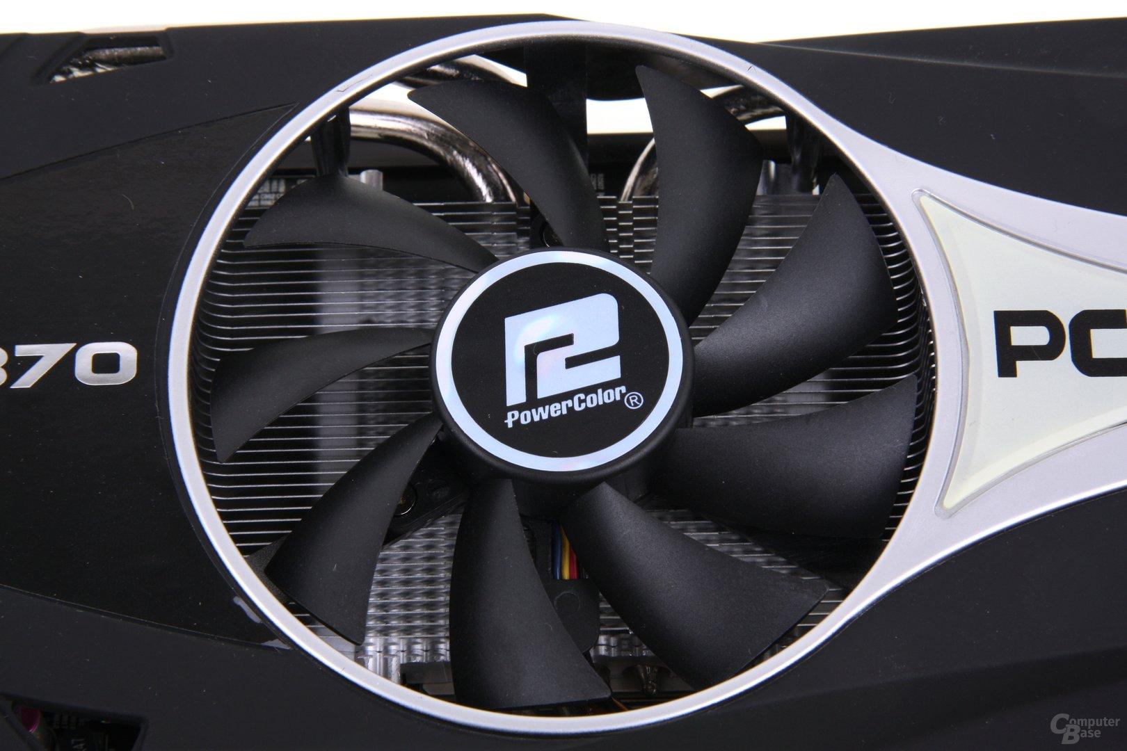 Radeon HD 7870 PCS+ Lüfter