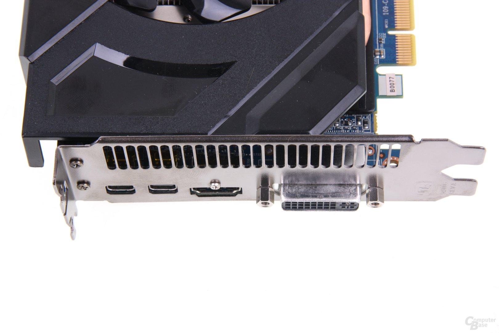 Radeon HD 7870 Anschlüsse