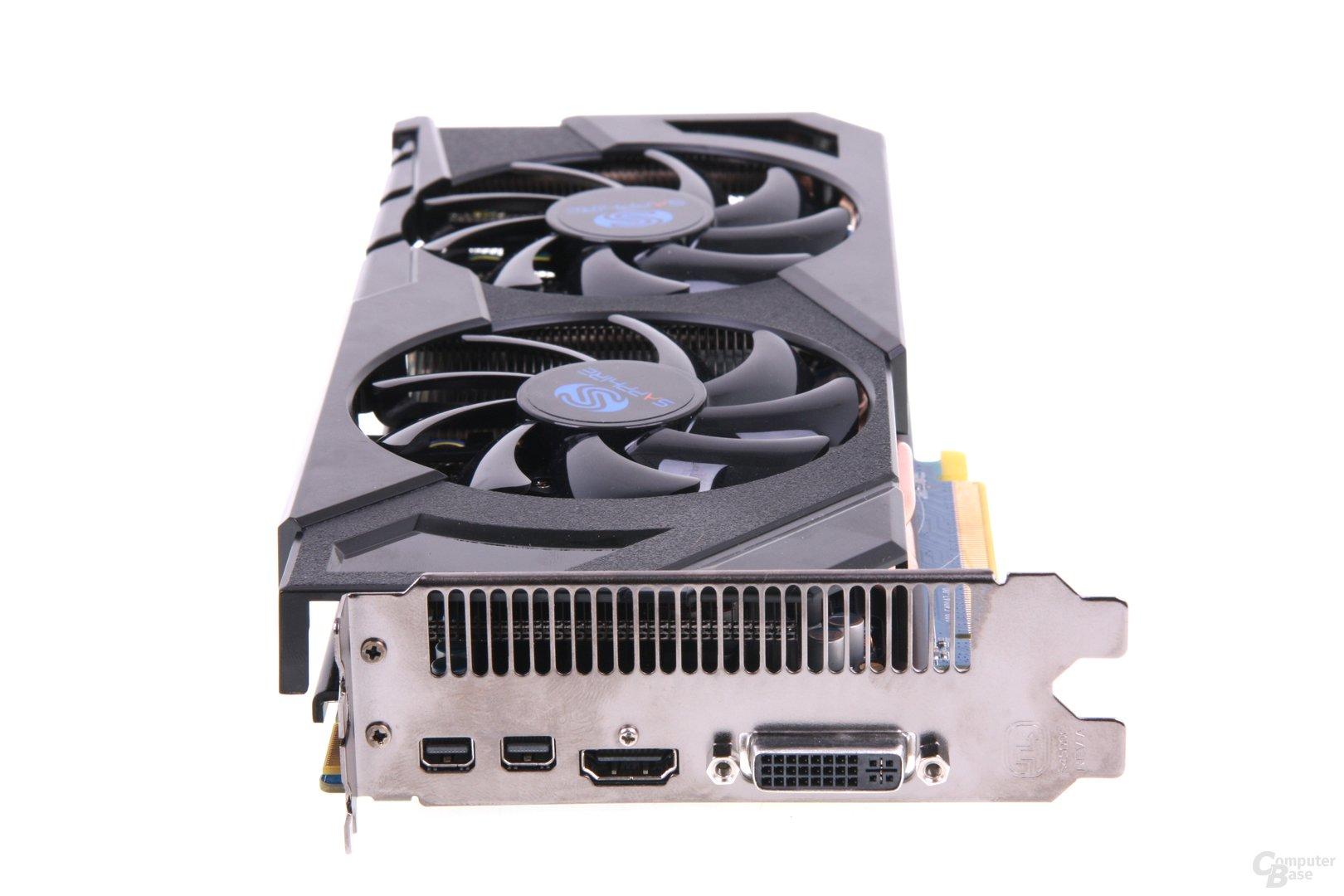 Radeon HD 7870 Slotblech