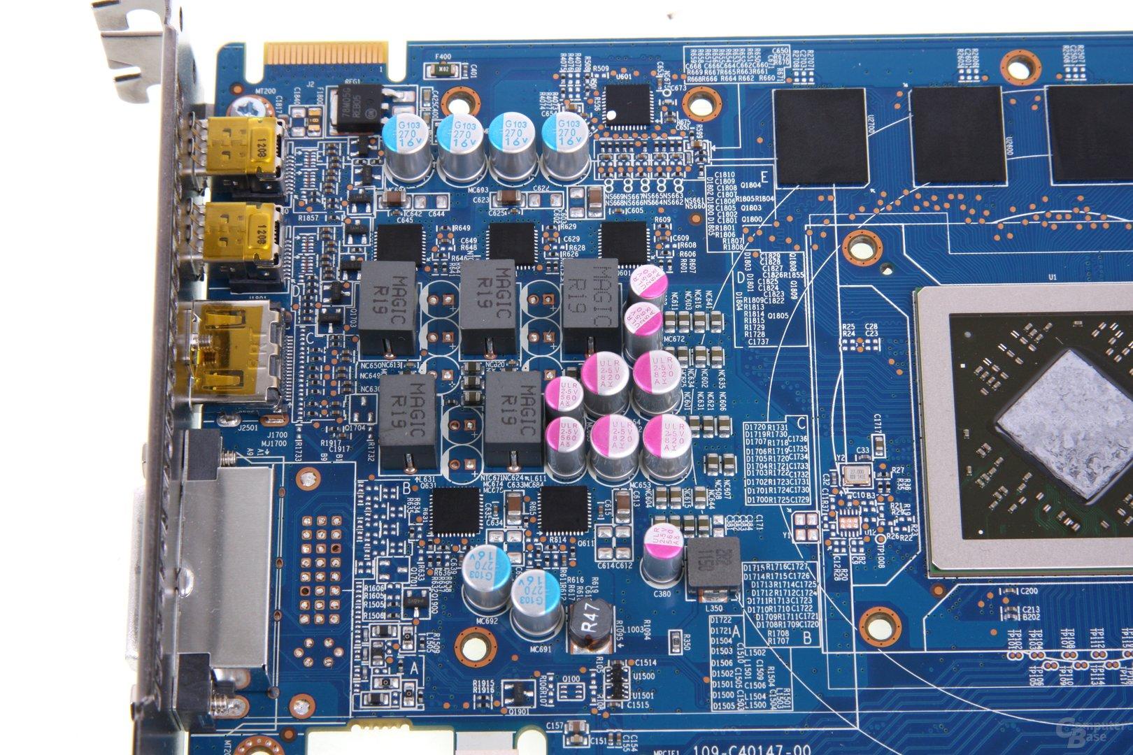 Radeon HD 7870 Stromversorgung