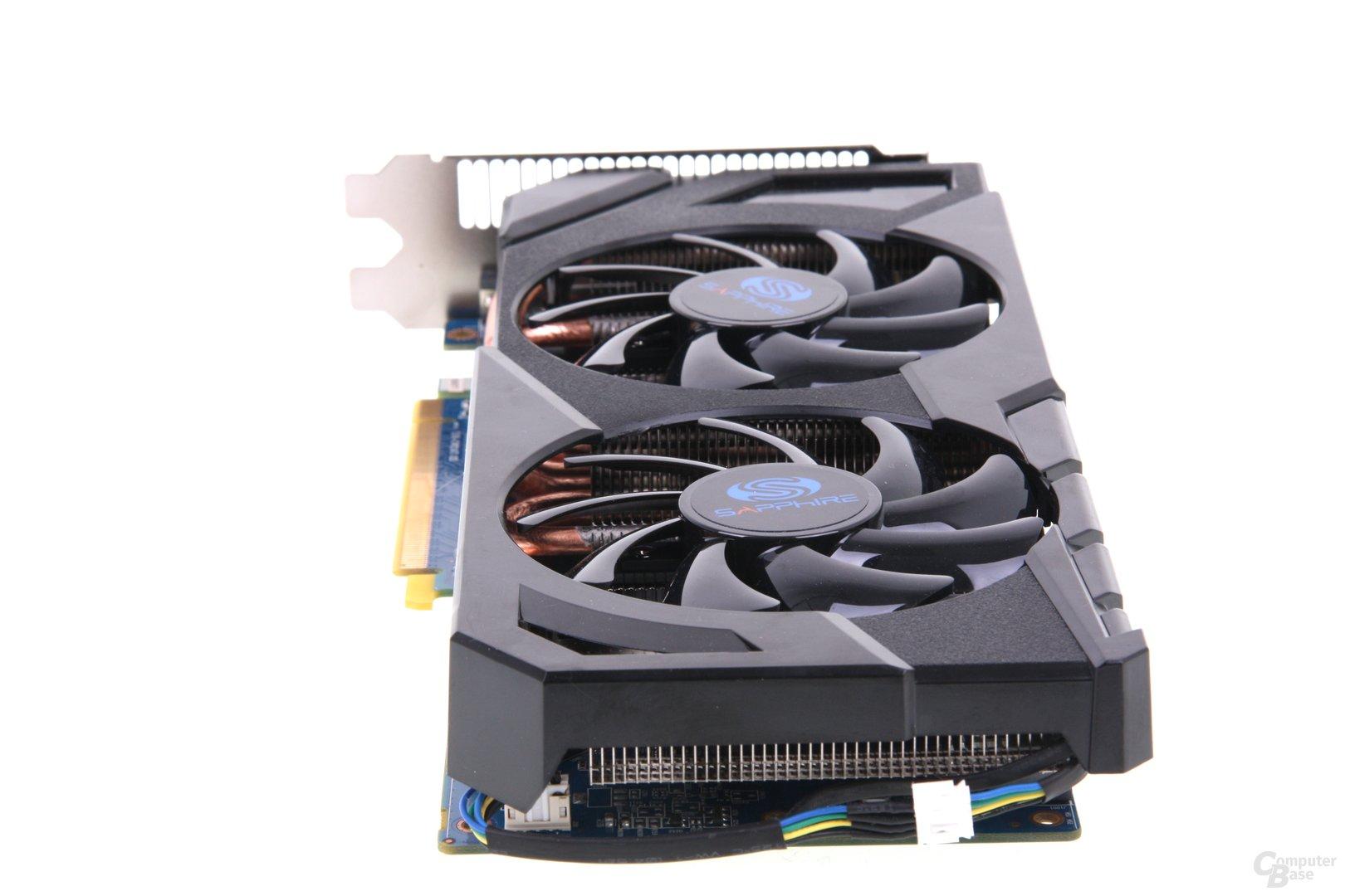 Radeon HD 7870 von hinten