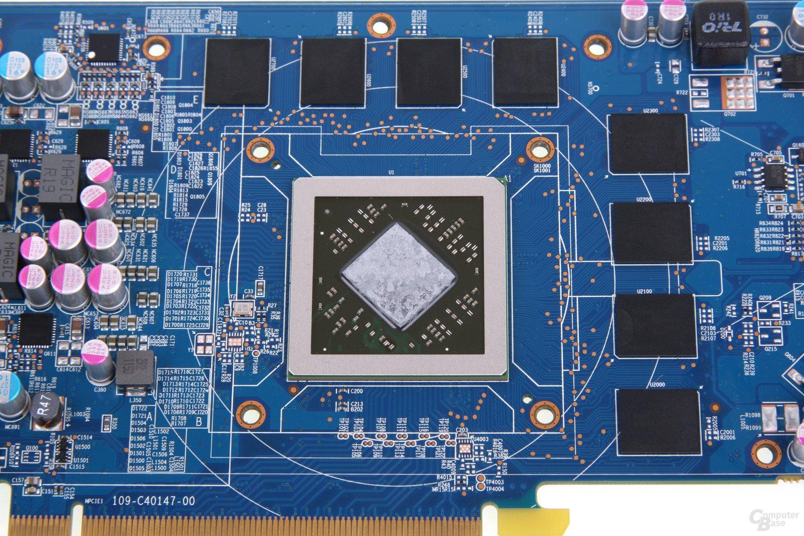 Radeon HD 7870 GPU und Speicher