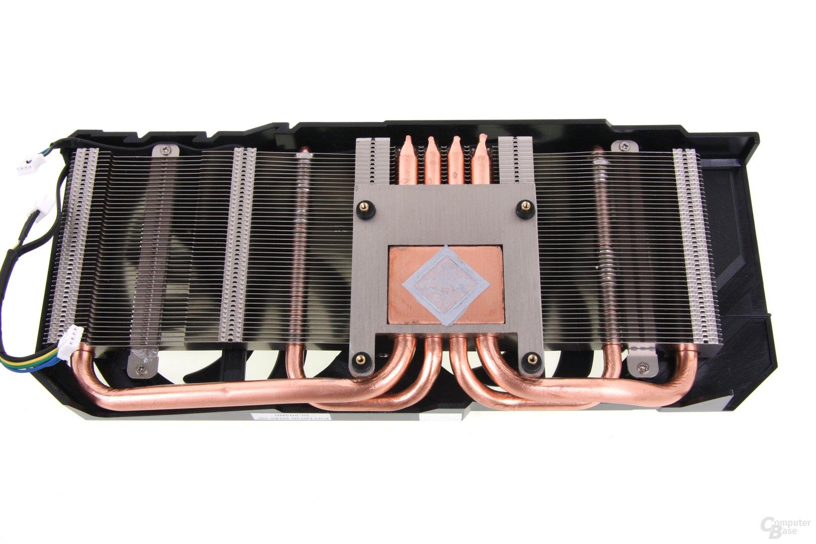 Radeon HD 7870 Kühlerrückseite