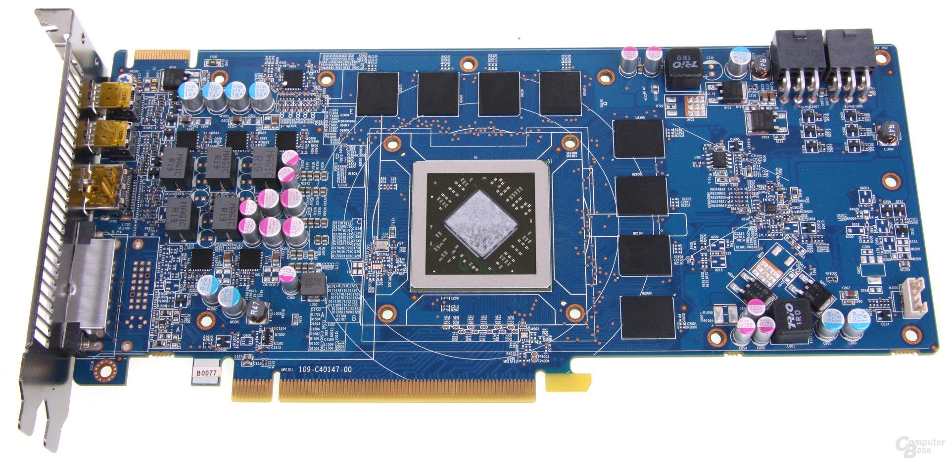 Radeon HD 7870 ohne Kühler