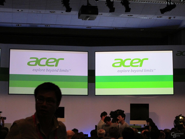 Acer-Pressekonferenz Computex 2012