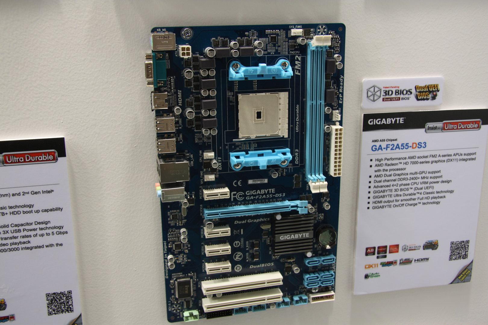 Gigabyte GA-F2A55-DS3
