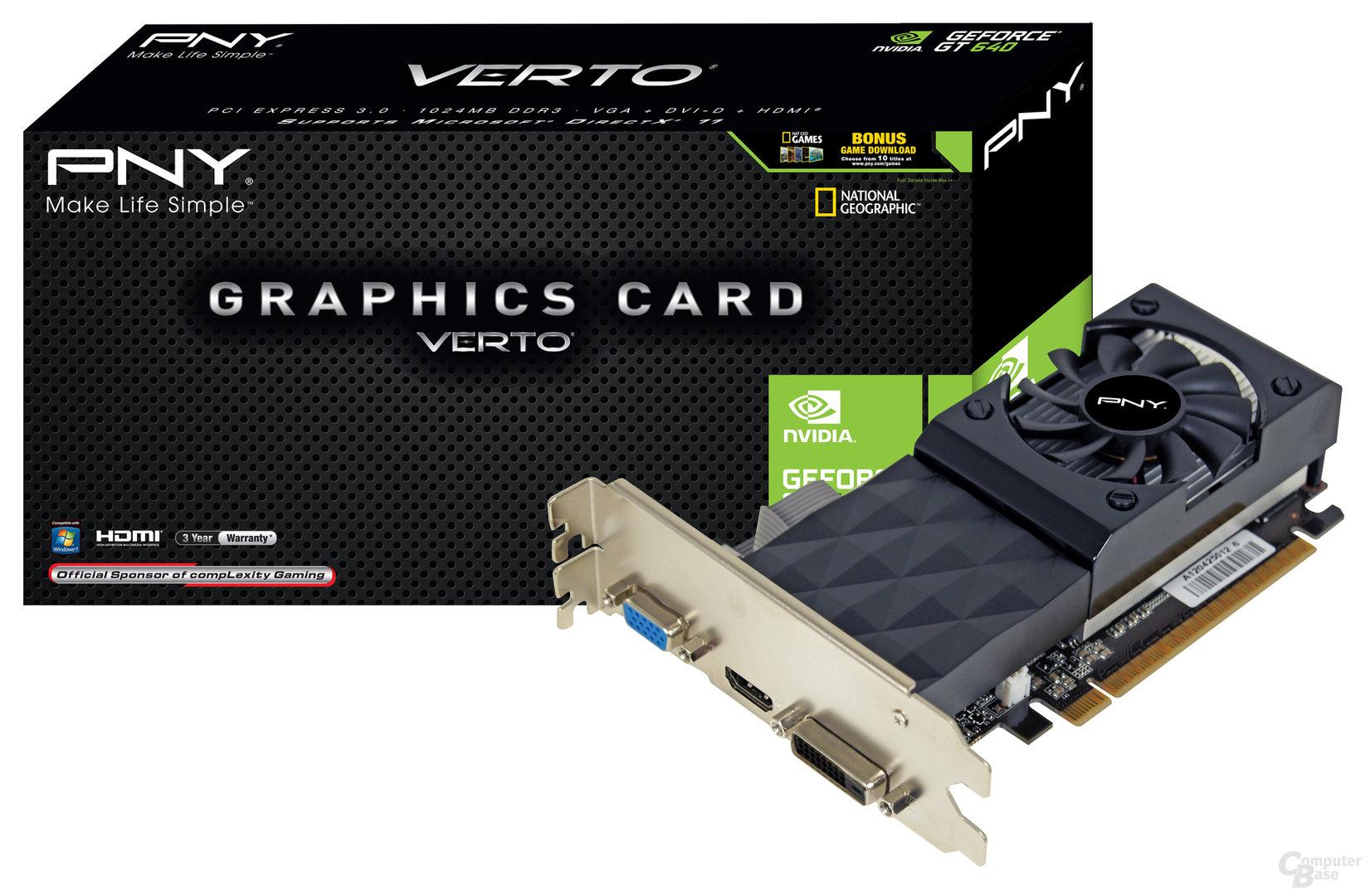 PNY GeForce GT 640