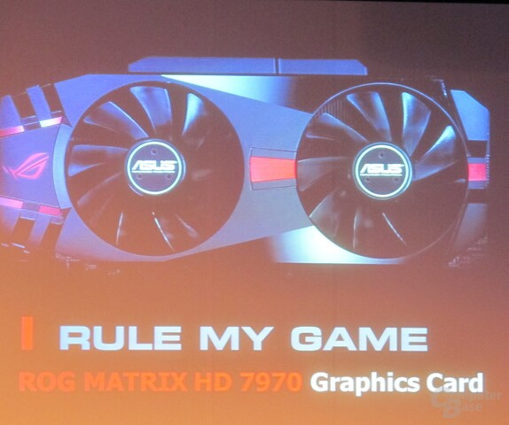Asus ROG Matrix Radeon HD 7970