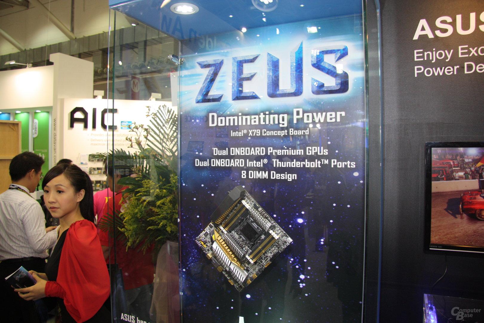 Asus Zeus Konzeptmainboard