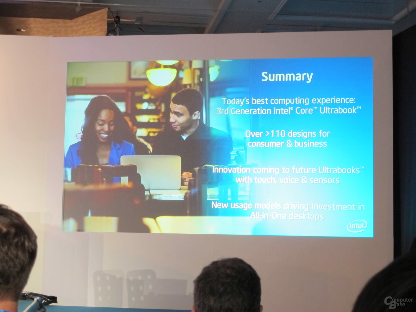 "Intel ""Delivering The Next Computing Experiences"""