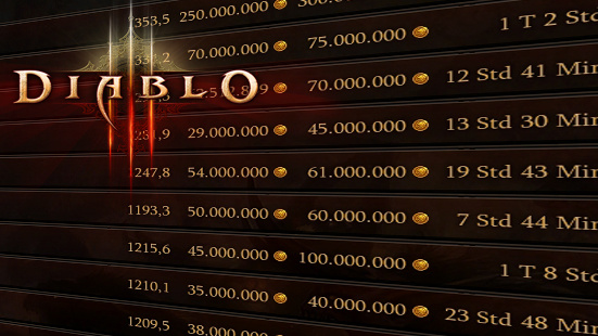 "Kommentar: ""Pay to Win"" via Hintertür in Diablo 3?"