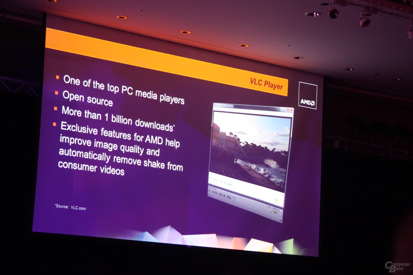 AMD-Pressekonferenz auf der Computex 2012