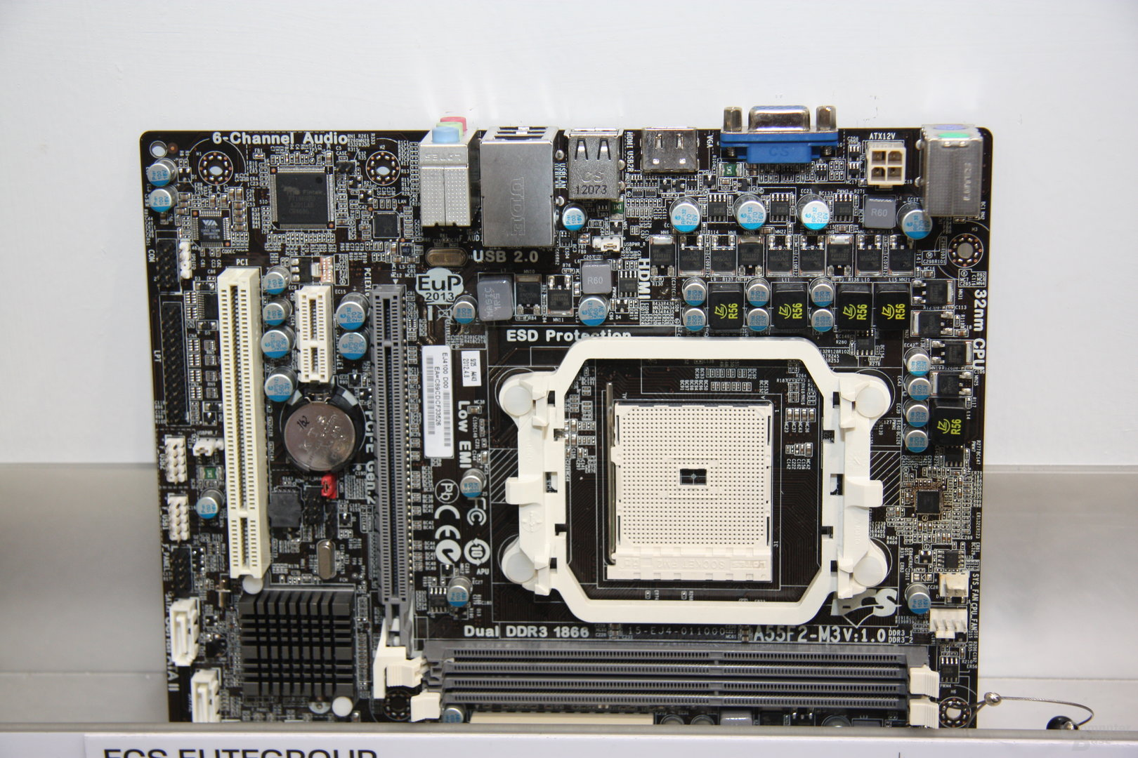 """Sockel-FM2-Mainboards für AMDs """"Trinity"""" auf der Computex 2012"""
