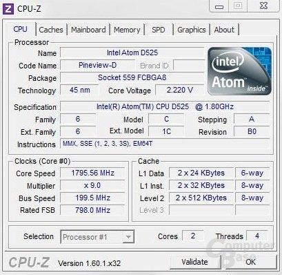 CPU-Z - Arctic MC001 DVDS