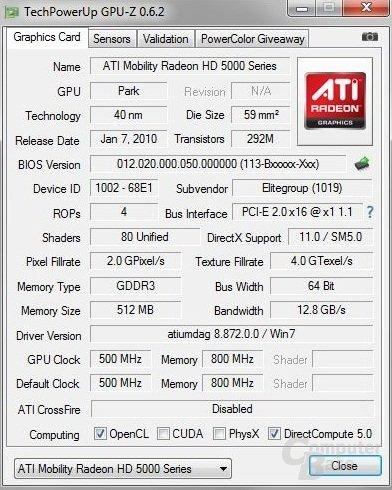 GPU-Z - Arctic MC001 DVDS