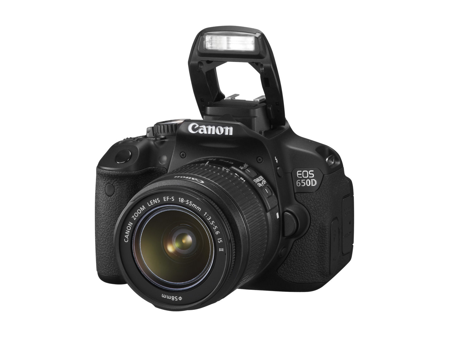 Canon EOS 650D inkl. EF-S 18-55mm