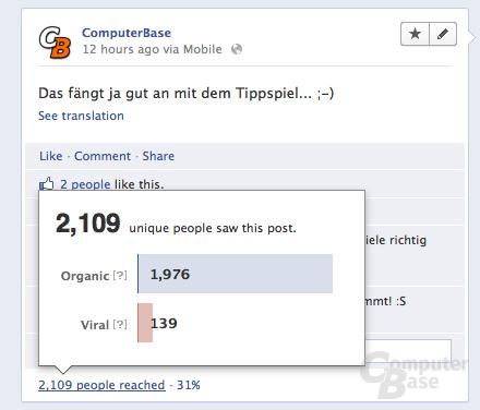 Bezahlmodell für Facebook-Statusmeldungen
