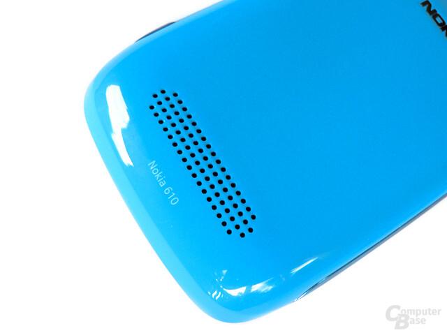 Nokia Lumia 610 – Lautsprecher