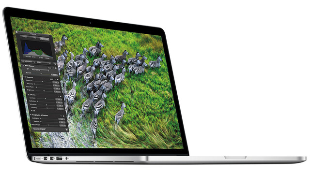 Next-Generation MacBook Pro mit Retina Display