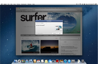Facebook-Integration in OS X Mountain Lion