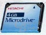 Hitachi Microdrive front