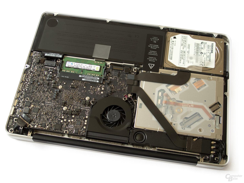 MacBook Pro: HDD, RAM und optisches Laufwerk