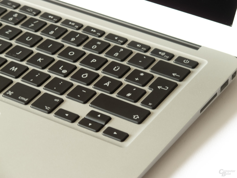 Tastatur des MacBookt Air