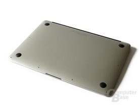 Unterseite des MacBook Air