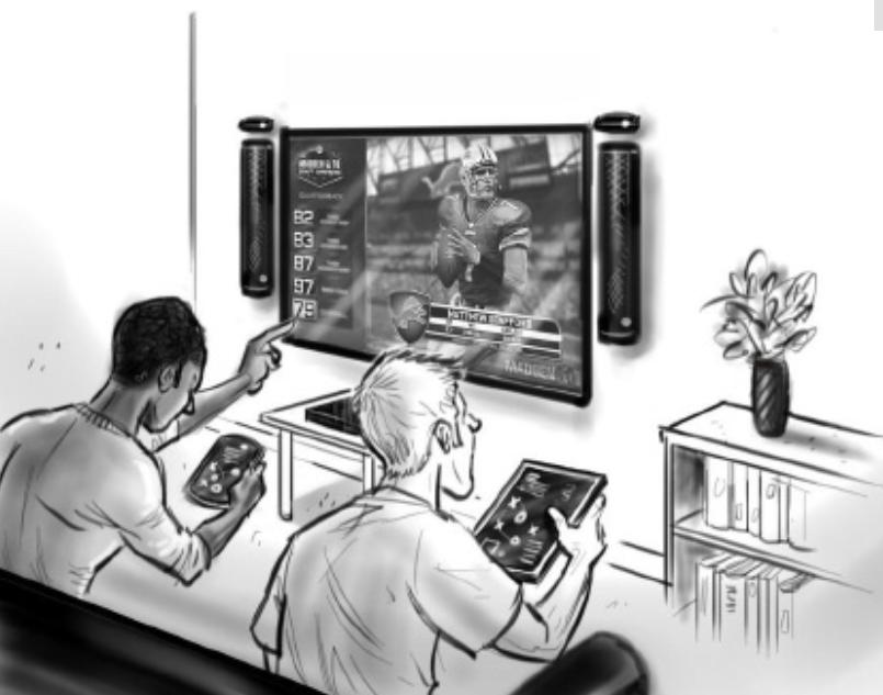 Vernetzung der Xbox mit mobilen Geräten