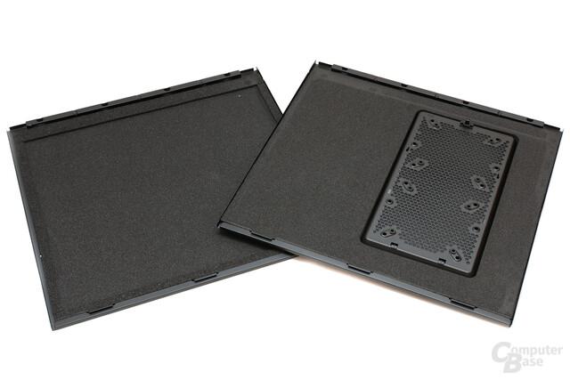 Corsair Obsidian 550D – Dämmung der Seitenwände