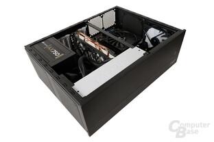 Fractal Design Node 605 – Testsystem seitlich
