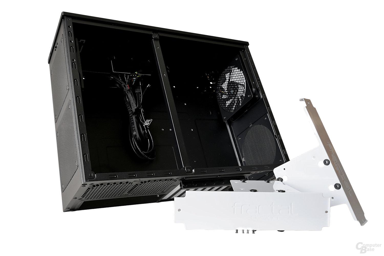 Fractal Design Node 605 – Festplattenschienen