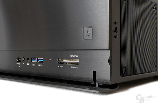 Fractal Design Node 605 – Frontpanel