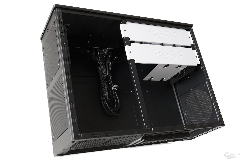 Fractal Design Node 605 – Seitenansicht Innenraum