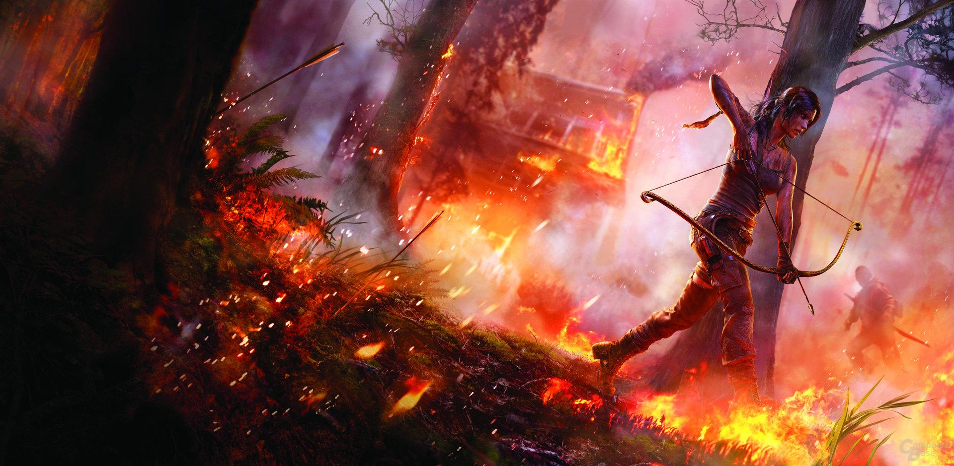 Tomb Raider (Rendergrafik)