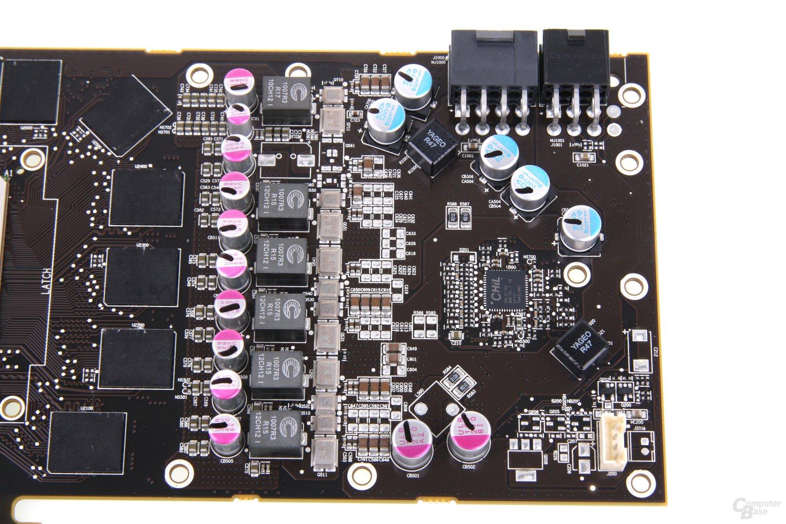 Radeon HD 7970 GHz Edition Stromversorgung