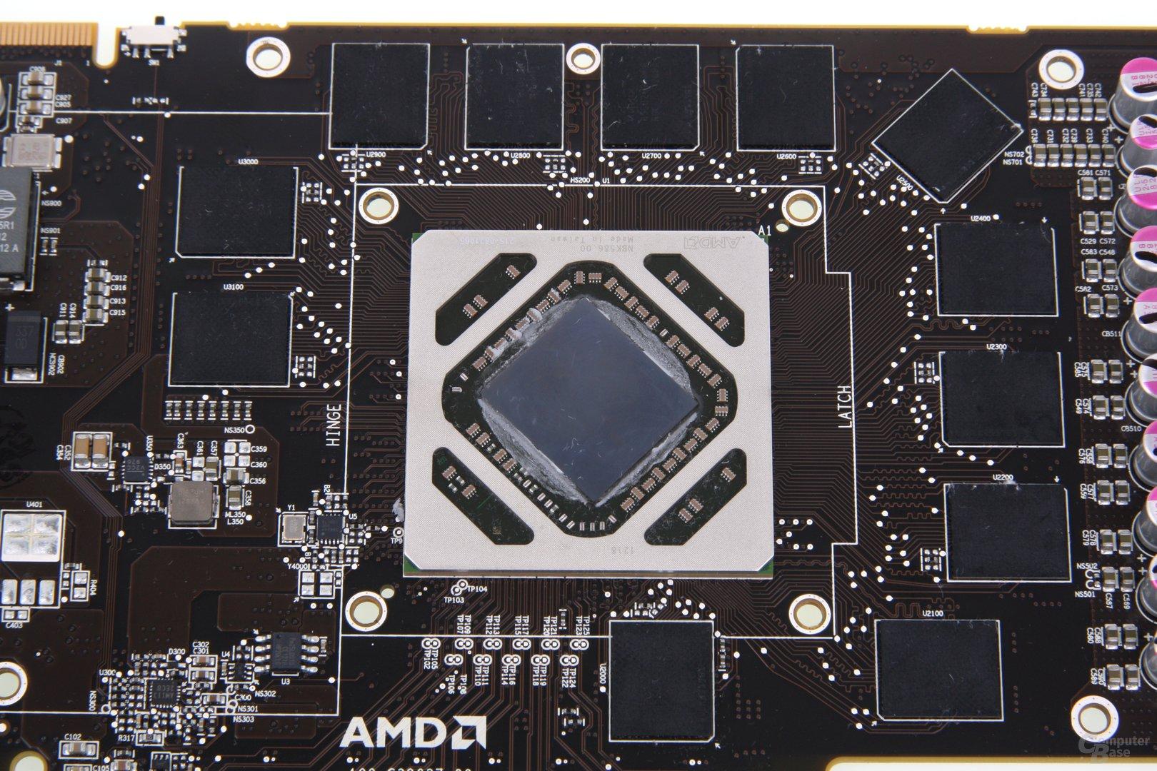 Radeon HD 7970 GHz Edition GPU und Speicher