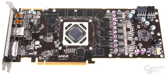 Radeon HD 7970 GHz Edition ohne Kühler