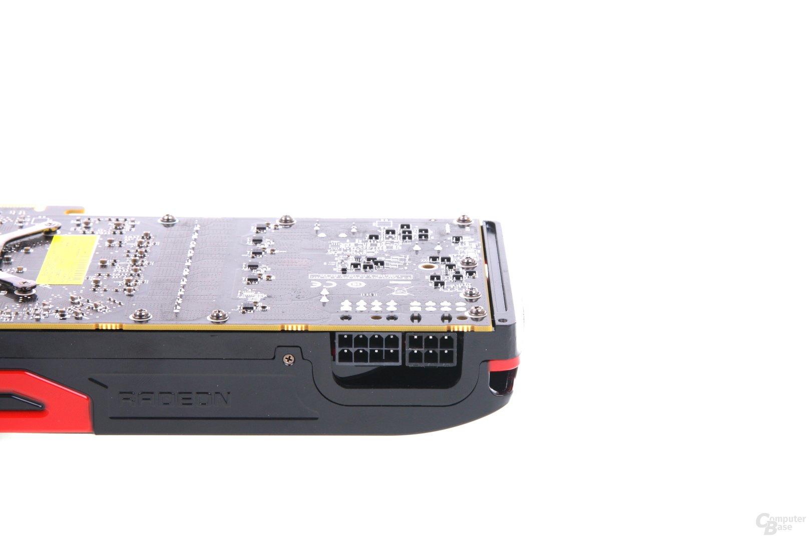 Radeon HD 7970 GHz Edition Stromanschlüsse
