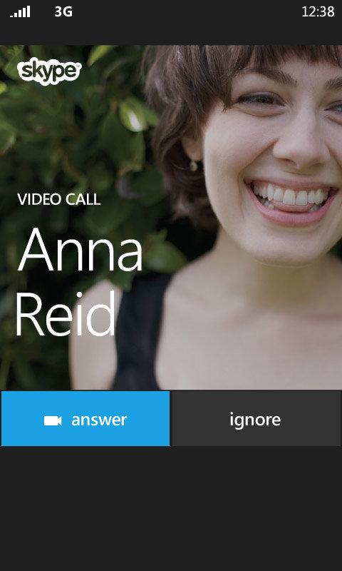 Windows Phone 8: Skype