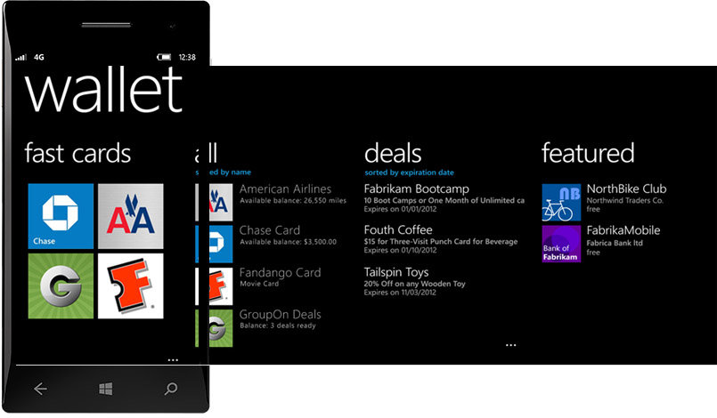 Windows Phone 8: Wallet