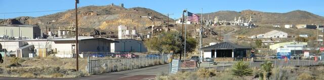 Mountain-Pass-Mine in den Vereinigten Staaten