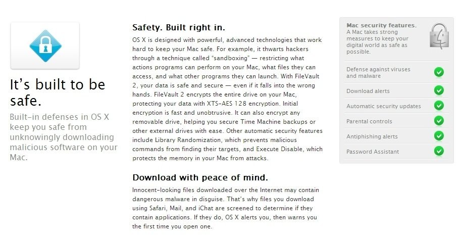Apple Mac OS X - neue Beschreibung